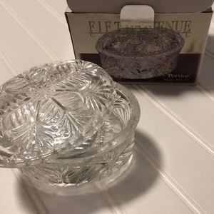 "Other - NWT Fifth Avenue Crystal Music Box 5"" L"